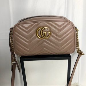 Gucci Marmont Matelesse Small Crossbody Bag